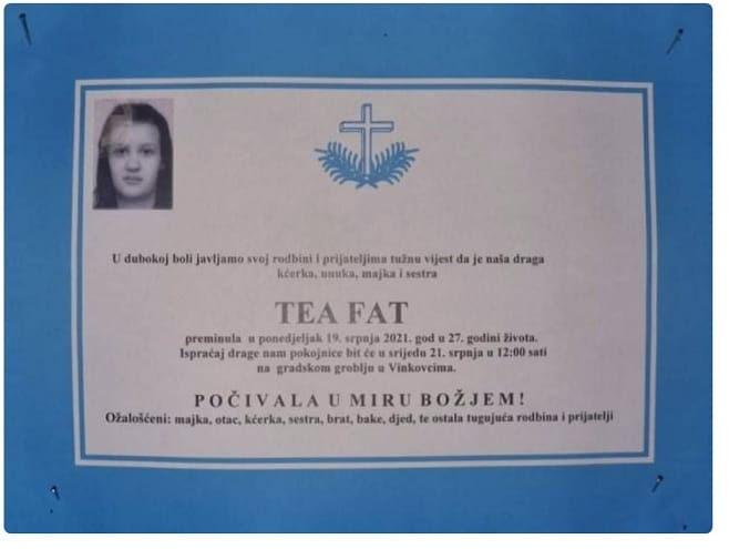 I ŠESTA ŽRTVA U HRVATSKOJ VOJSCI! Ubila se vojnikinja Tea Fat, majka malodobne djevojčice
