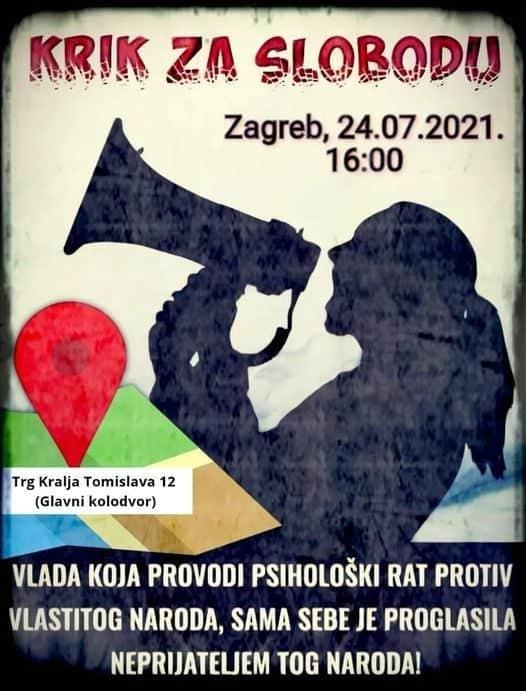 OTPOR! Protiv obveznog cijepljenja digli se Francuzi, Grke tukla policija, veliki prosvjed i u Zagrebu