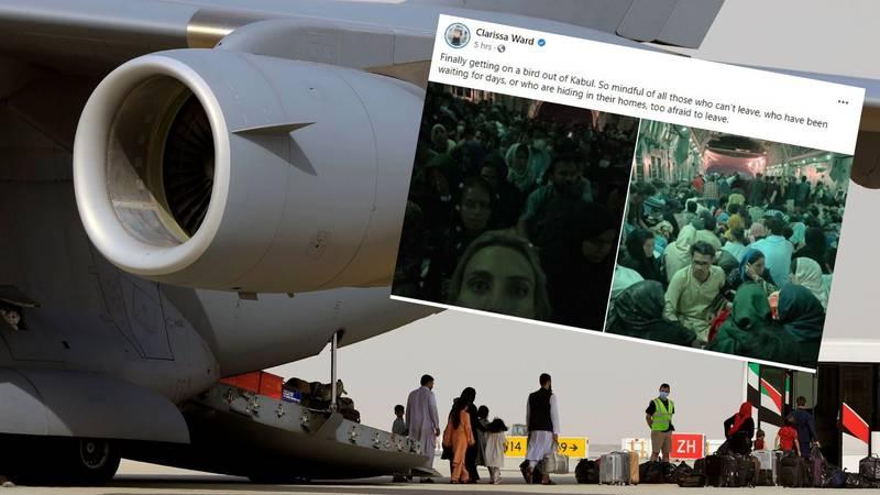 CNN-ova novinarka u avionu s 300 ljudi napustila Afganistan: 'Mi smo ti koji smo imali sreće'