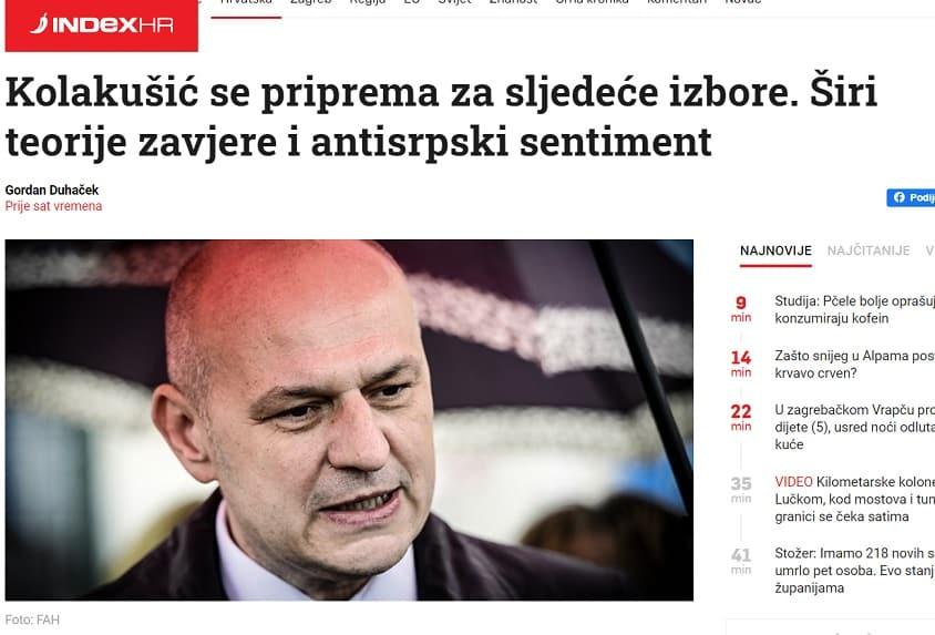 Kažnjavani homoseksualac s Indexa napao Kolakušića zbog stava o LGBT propagandi u školama!