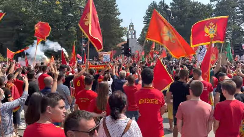 'Nećemo dozvoliti ustoličenje mitropolita SPC na Cetinju'