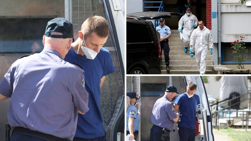 Ovo je osumnjičeni za ubojstvo u Dugavama: Prijatelja je izbo na smrt, haustor je bio pun krvi