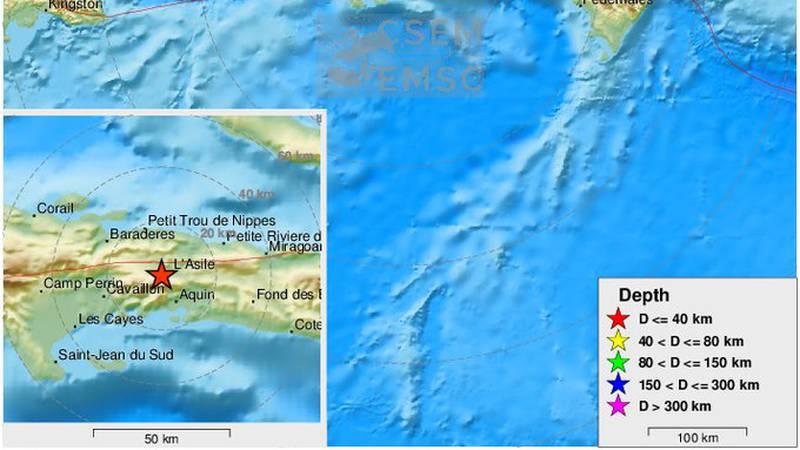 Potres jačine 7.2 zatresao Haiti