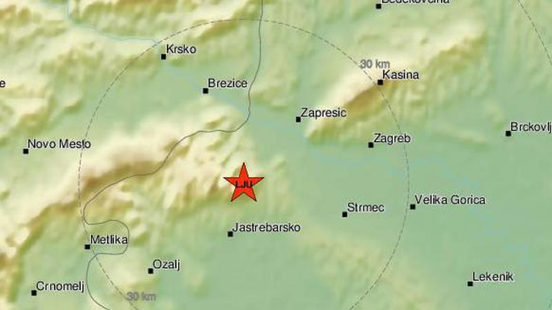 Potres od 2,2 Richtera probudio Samoborce: 'Kao grmljavina'
