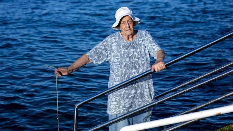 Šjora Ana javlja DHMZ-u svaki dan temperaturu mora: 'More je toplo ako ja tako kažem'