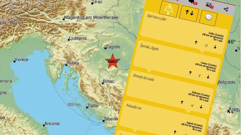 Svjedočanstva nakon snažnog potresa: 'Pa dokle, ljudi moji, ja više ne mogu ovo izdržati...'