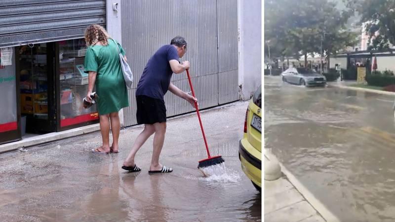 U Splitu palo čak 65 litara kiše, deseci ispumpavanja po gradu