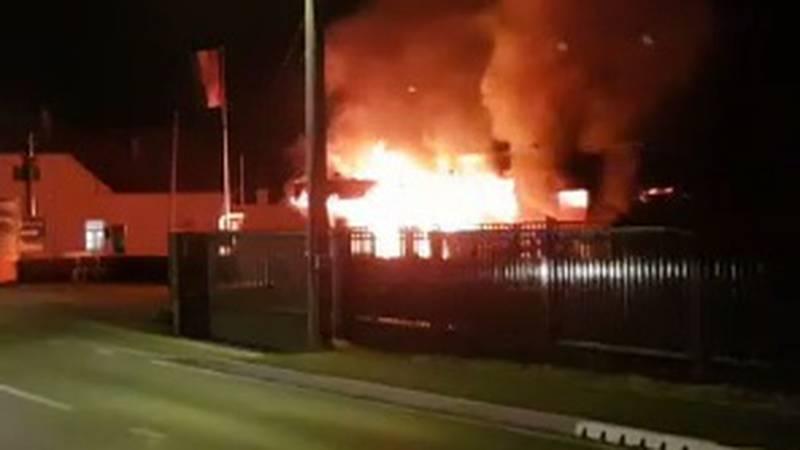 VIDEO Kod Zaprešića raznijeli bankomat i zapalili cijeli dućan: 'Prije požara je baš grunulo'