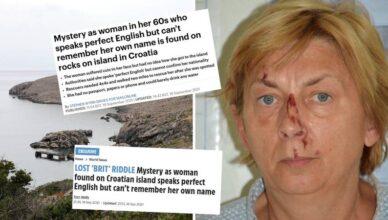 Britanski mediji pišu o ženi koju su našli na Krku: 'Savršeno govori engleski, ne zna tko je'