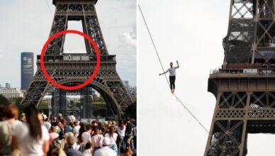 Francuz hodao po špagi 600 metara: 'Nije bilo nimalo lako!'
