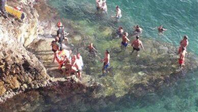 Njemački turisti skakali u more sa stijena. U teškom su stanju