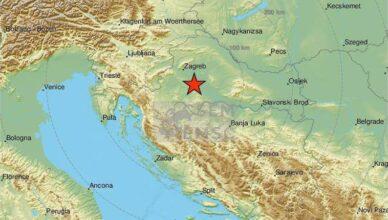 Novi potres u Sisku i okolici: 'Dugo nije ovako treslo. Čuo se jak zvuk kao da prolazi vlak'