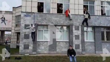 Uznemirujuće snimke: Pucnjava na ruskom fakultetu, studenti u panici skakali kroz prozor