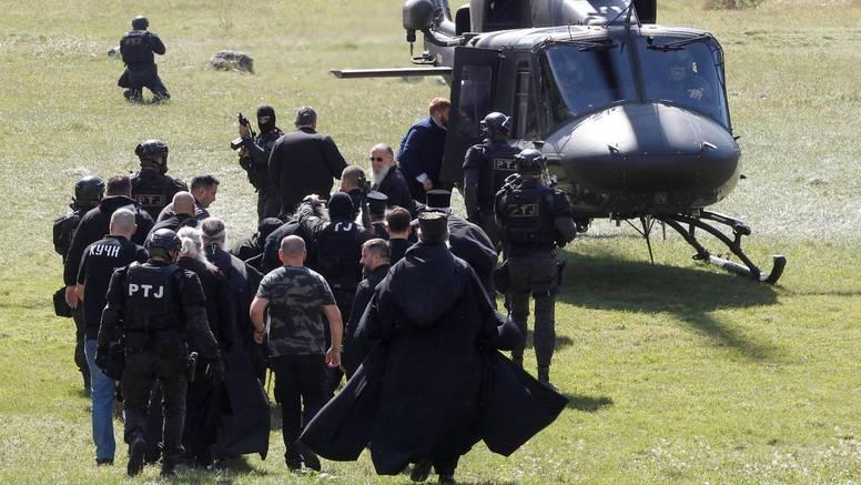 Zavarali su trag s 3 helikoptera: 'Bojali smo se da netko ne puca na Porfirija. Bila su 2 lažna leta'