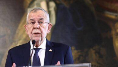 Austrijski predsjednik otvorio palaču za cijepljenje 300 ljudi
