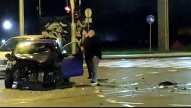 Krš u Dubravi: Sudarili se na okretištu, jedan vozač bio pijan