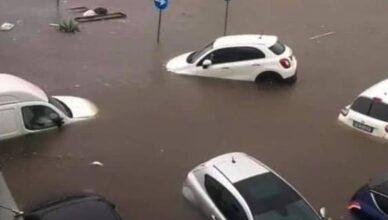Rijetka vrsta uragana na Siciliji: Poginulo je dvoje ljudi, bujica odnijela povijesnu tržnicu