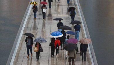 Temperature od ponedjeljka idu ispod nule, čeka nas puno kiše, magle, mraza i olujne bure